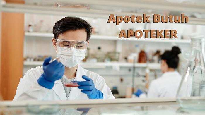 peluang kerja apoteker tidak terbatas di apotek saja. peluang usaha apokter sangat luas, peluang kerja farmasi tidak terbatas.