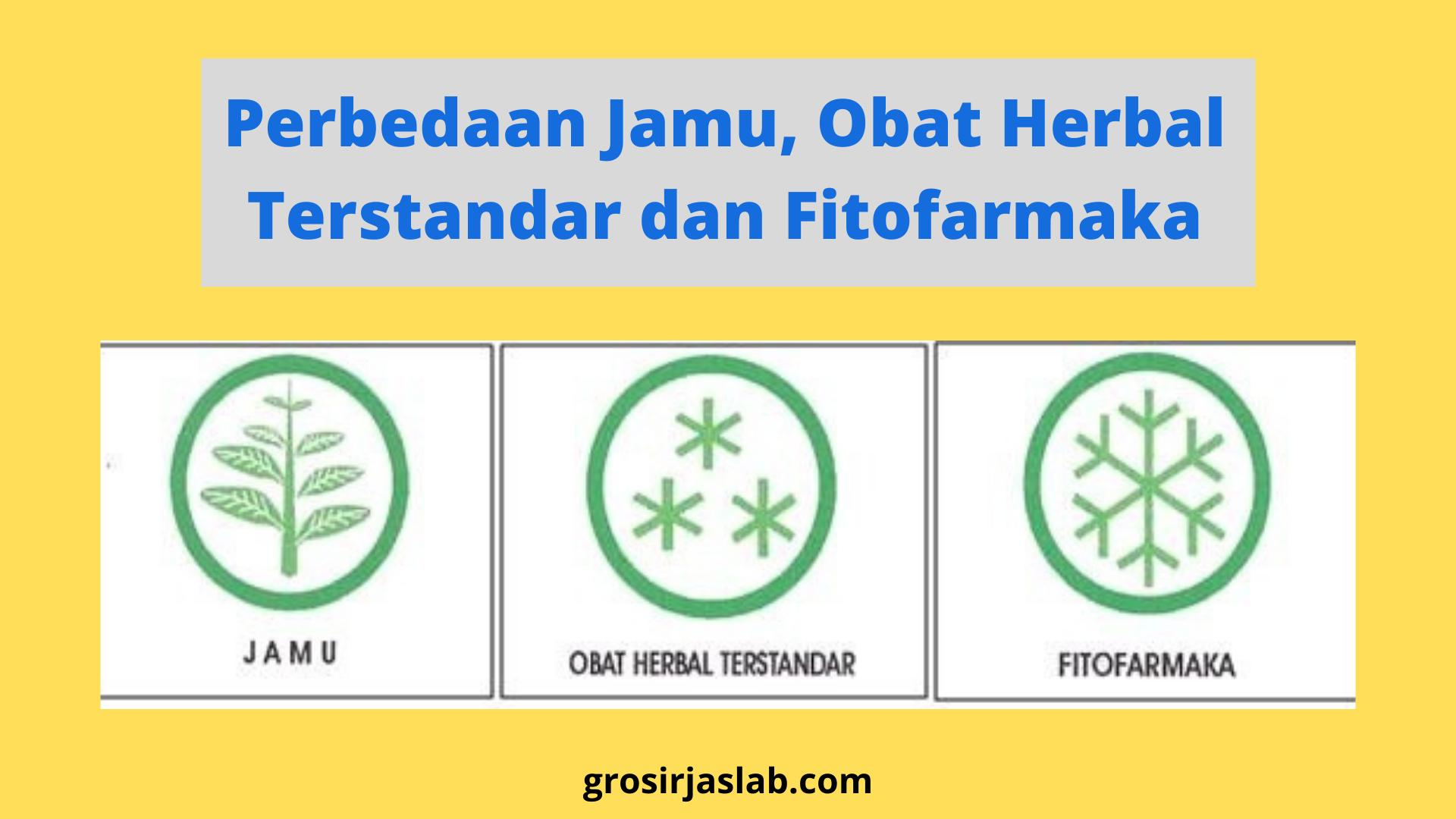 Perbedaan Jamu, Obat Herbal Terstandar dan Fitofarmaka