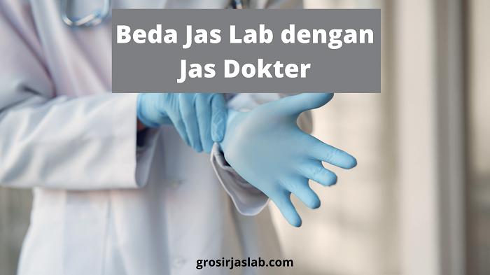 beda jas lab dengan jas dokter