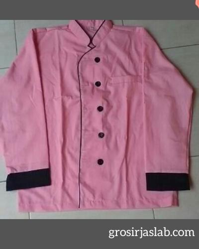 seragam-koki-pink